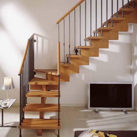 Nguyên tắc thiết kế cầu thang cho nhà hẹp
